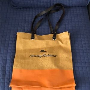 Canvas Tommy Bahama tote bag